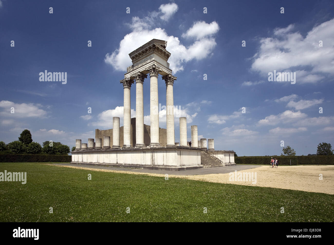Archaeological Park Xanten APX, Germany Stock Photo