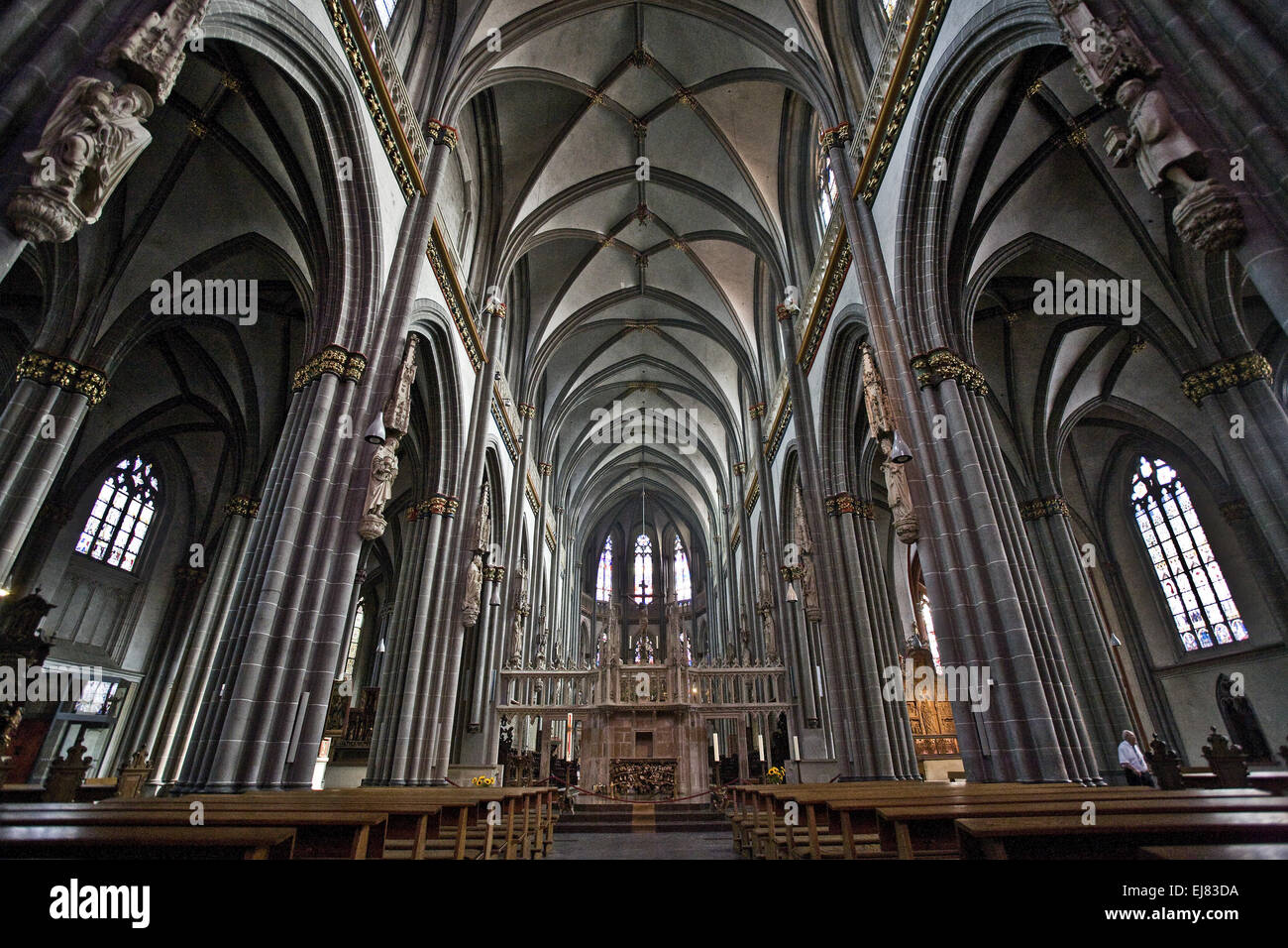 Cathedral St. Victor, Xanten, Germany Stock Photo