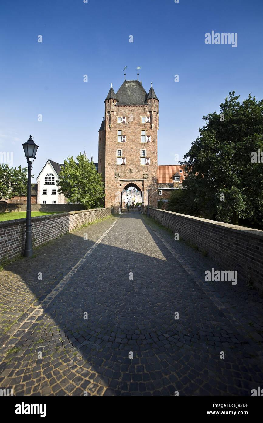 Kleve Gate, Xanten, Germany - Stock Image