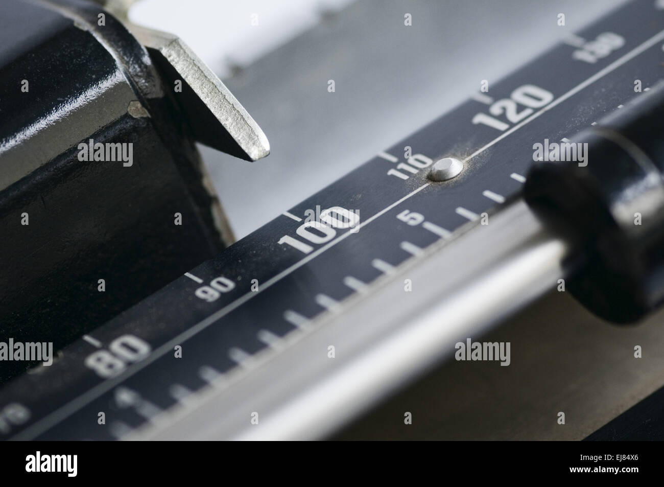 weight for kilogram - Stock Image