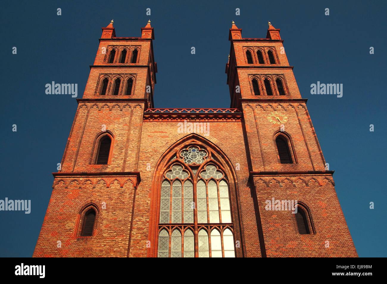 Church Germany Berlin Stock Photo