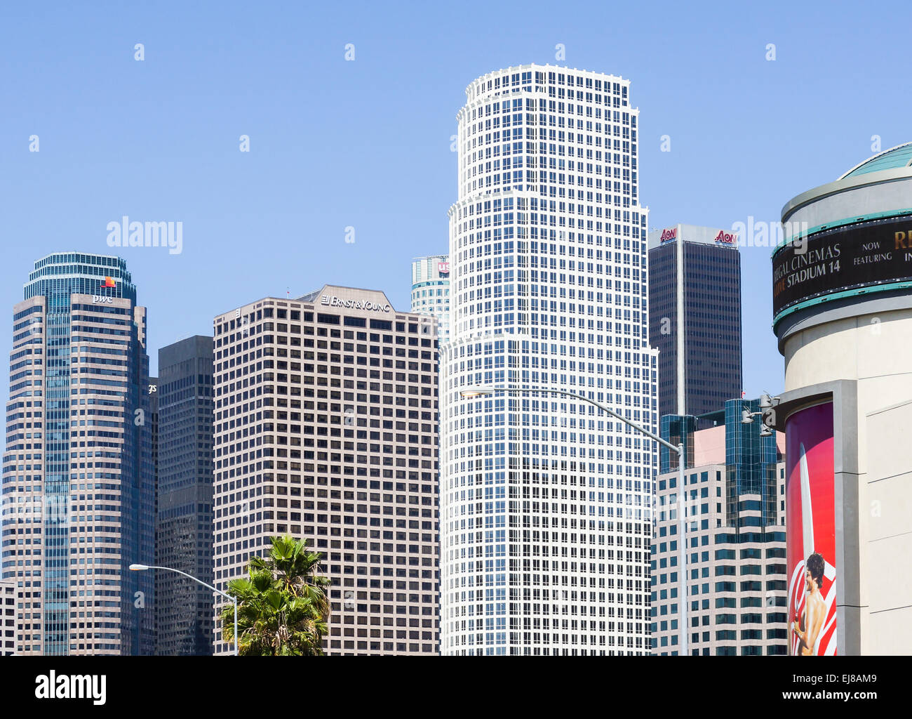 Downtown L.A. - Stock Image