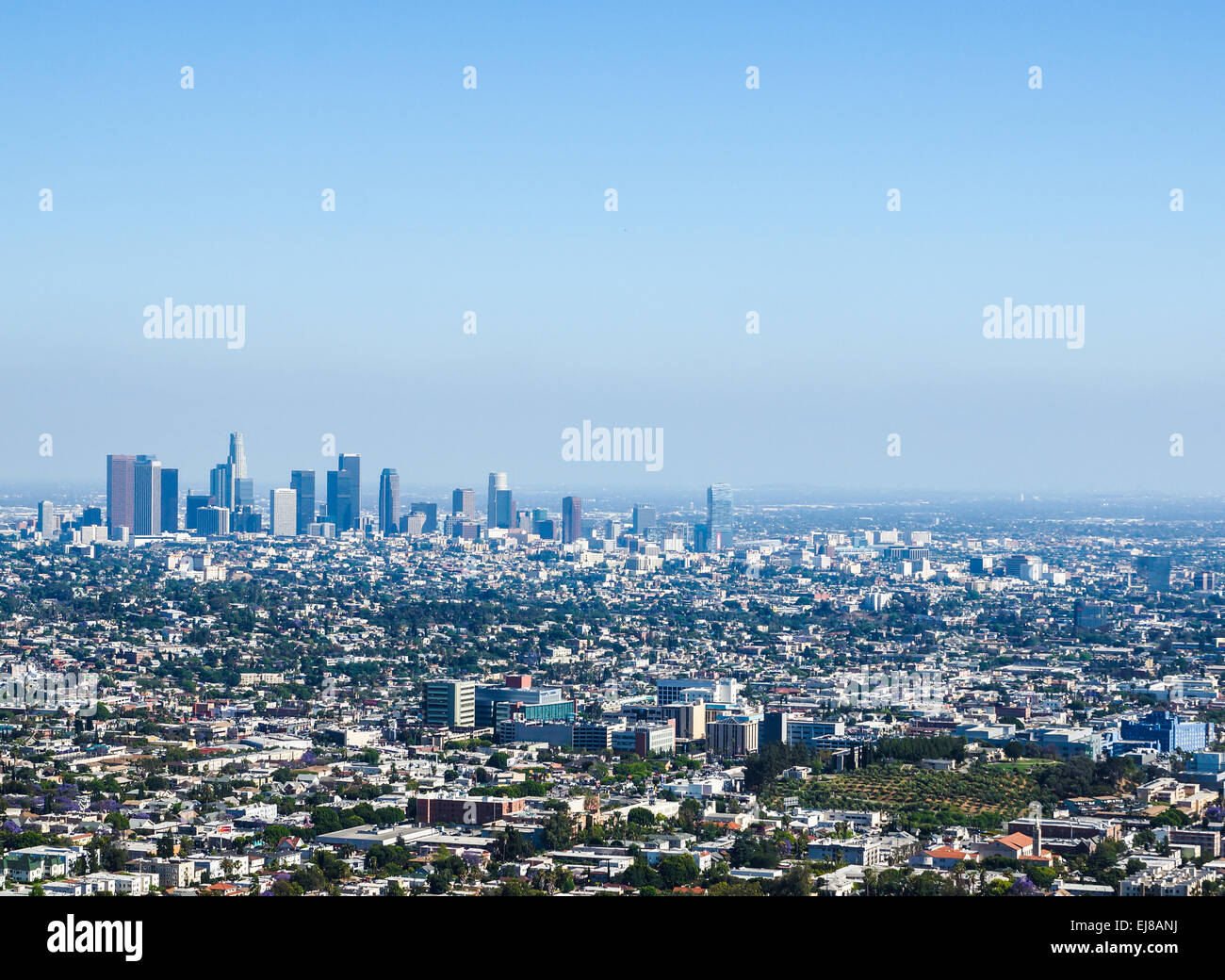 View over Los Angeles - Stock Image