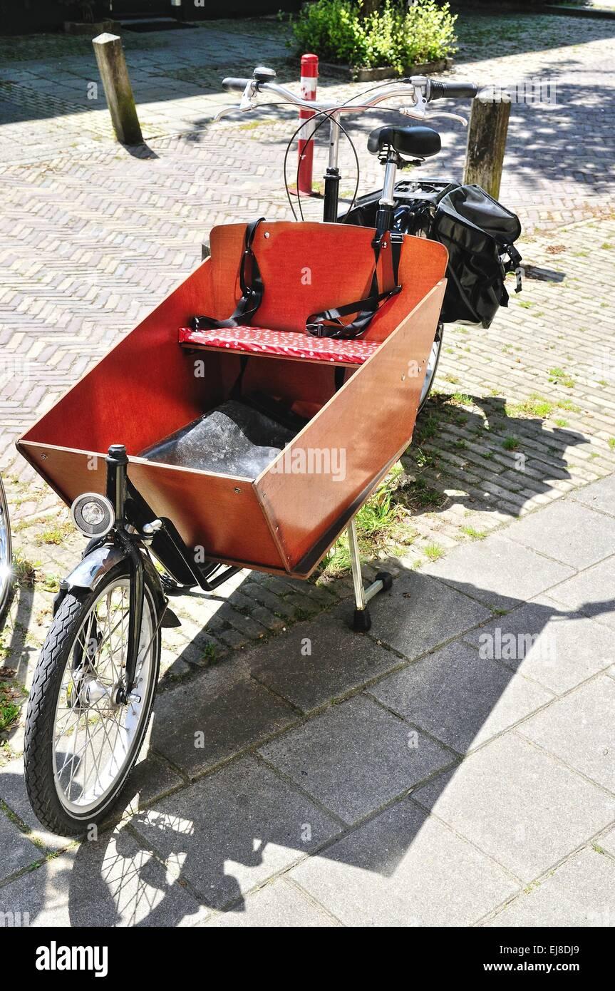 bicycle transport Stock Photo