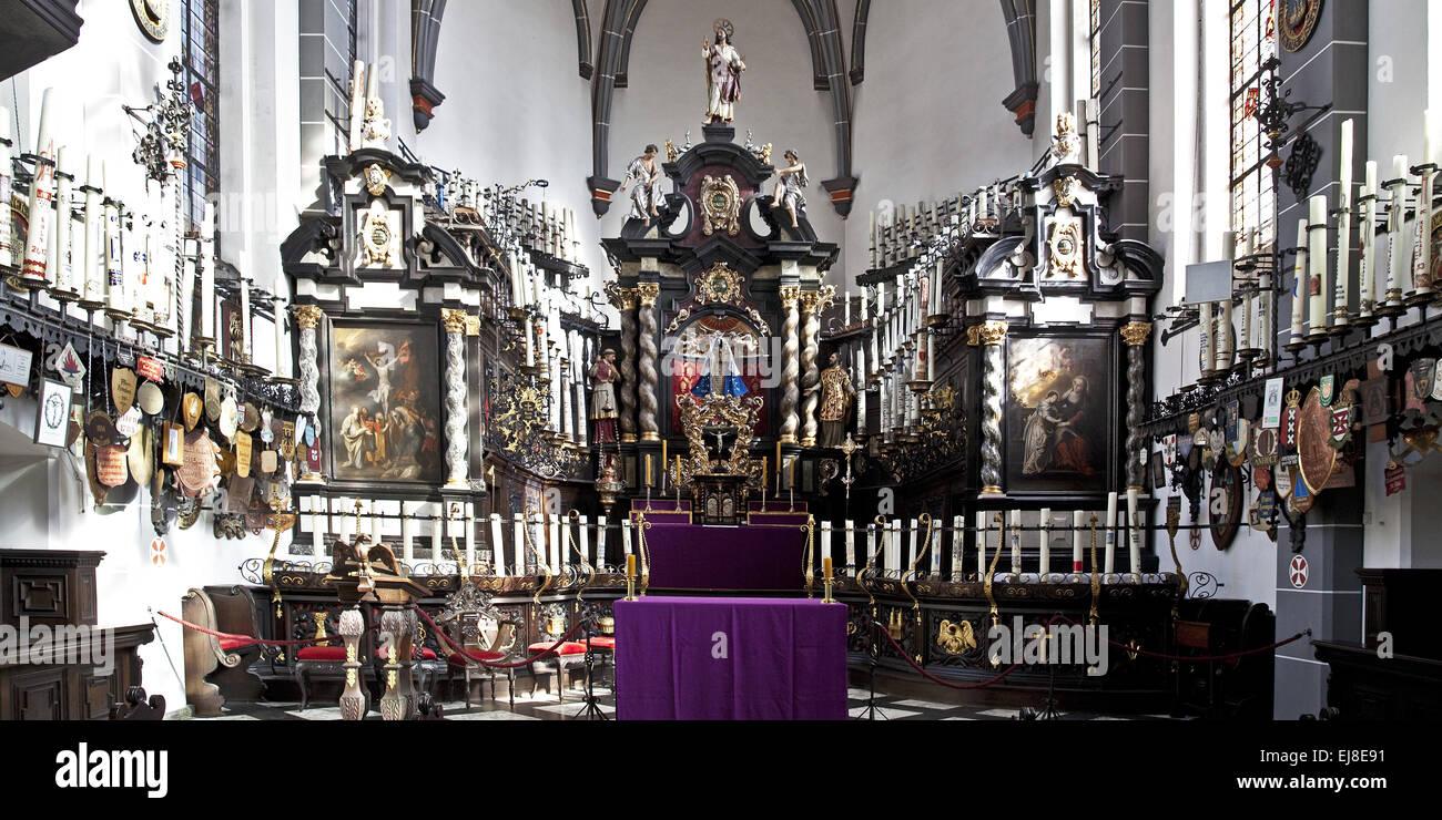 Candle Chapel, Kevelaer, Lower Rhine, Germany - Stock Image