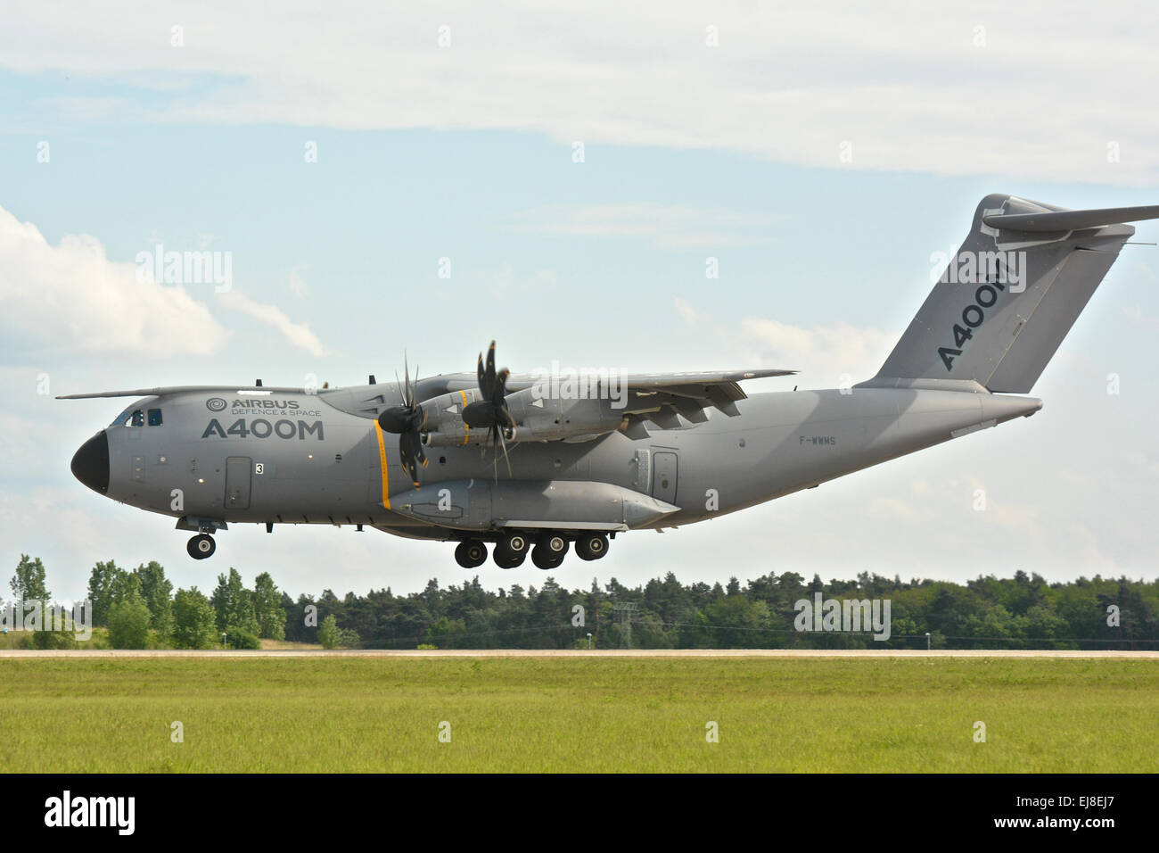 Airbus A400 M ILA Berlin 2014 - Stock Image