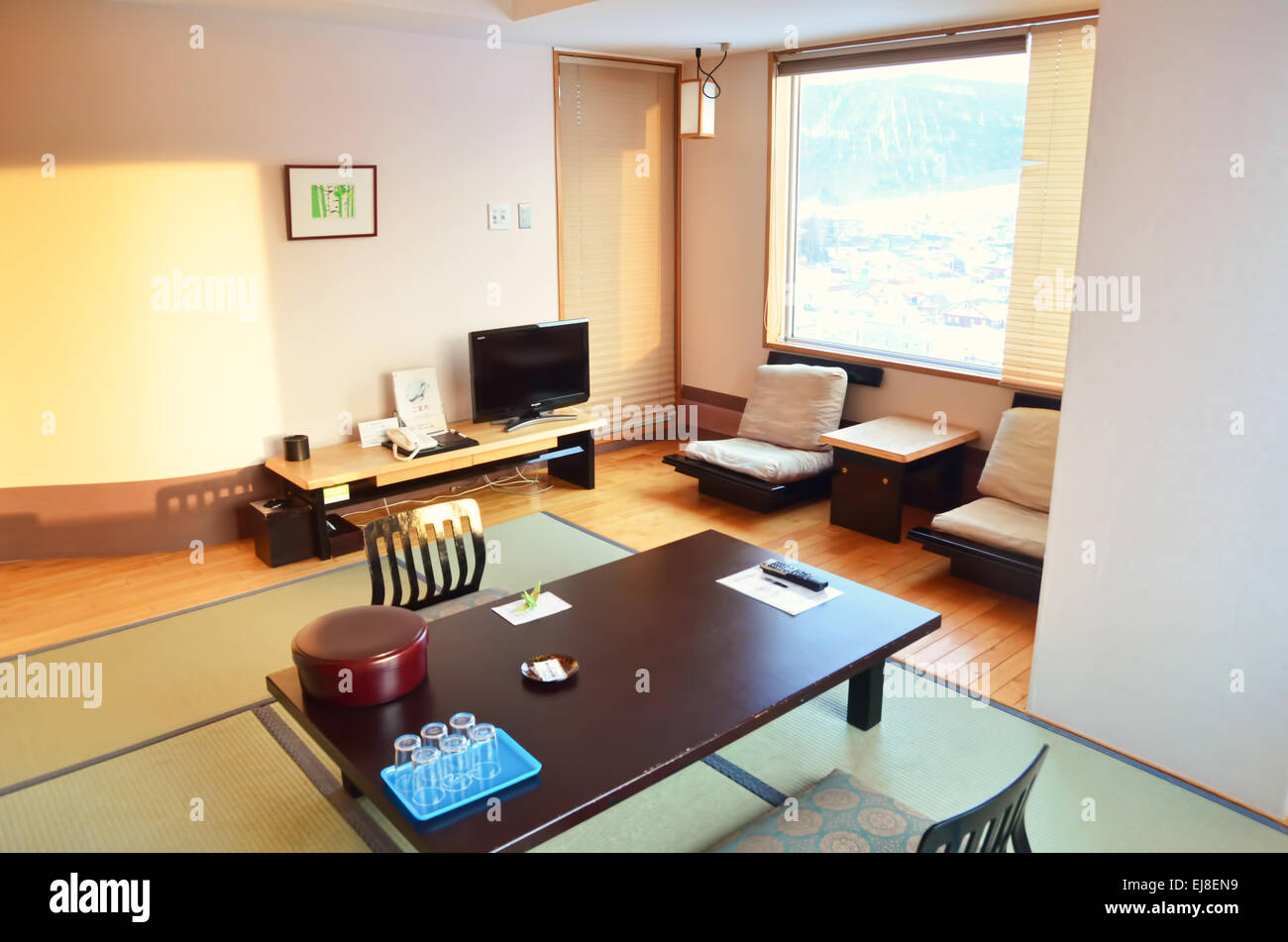 Outstanding Modern Traditional Japanese Style Ryokan Hotel Room Stock Interior Design Ideas Philsoteloinfo