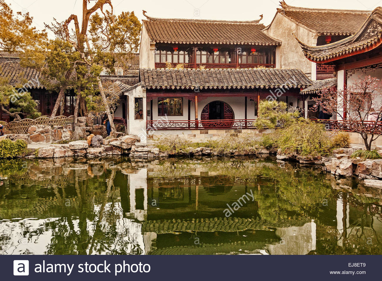 Garden Master Of The Nets Shanghai China Stock Photo: 80092553 - Alamy