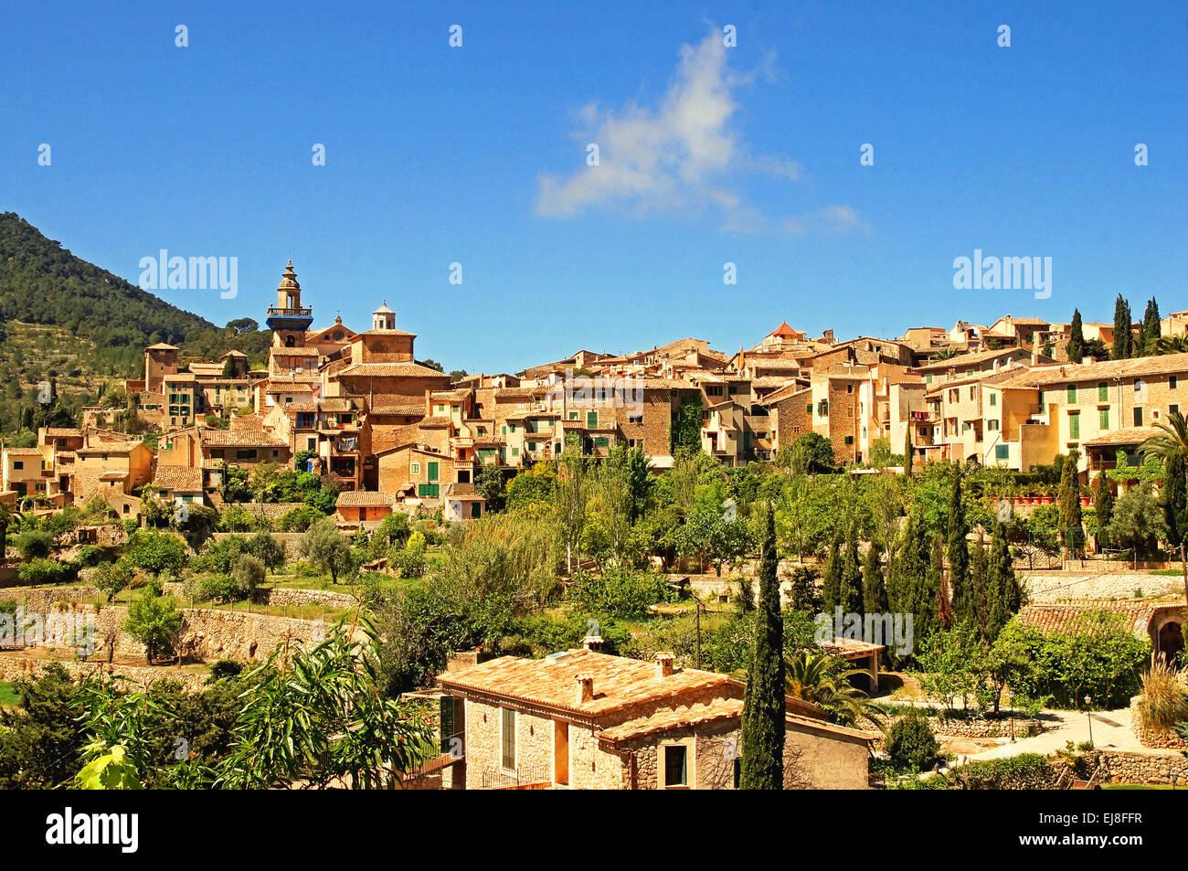 Valldemossa Spain Mallorca Stock Photo