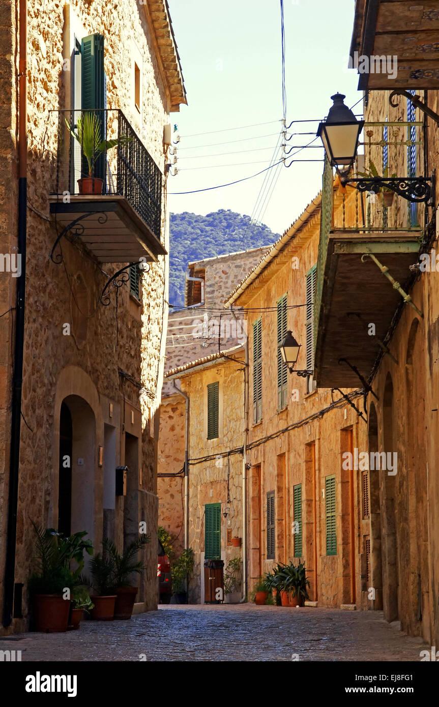 Valldemossa Spain Mallorca - Stock Image