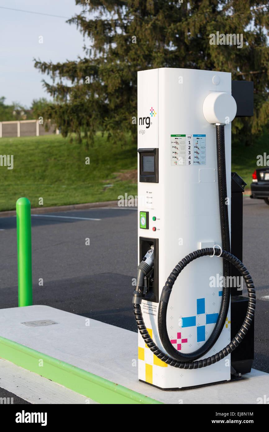 NRG EVGO charging station in USA Stock Photo: 80097408 - Alamy