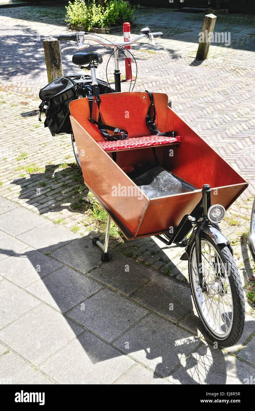 Transport system bike Stock Photo