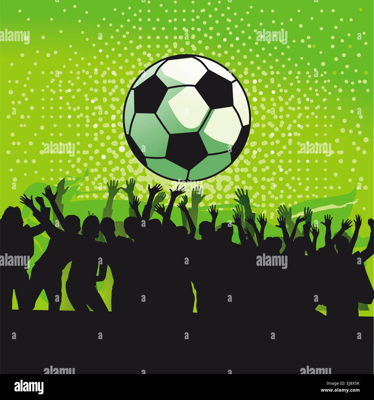 Goal Celebration - Stock Image