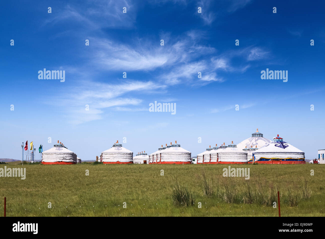 prairie gers - Stock Image