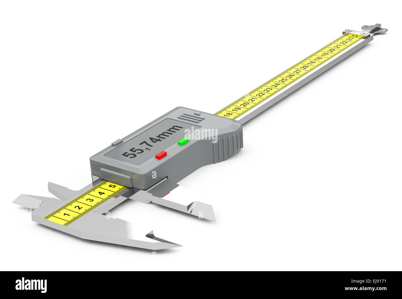 the vernier caliper - Stock Image