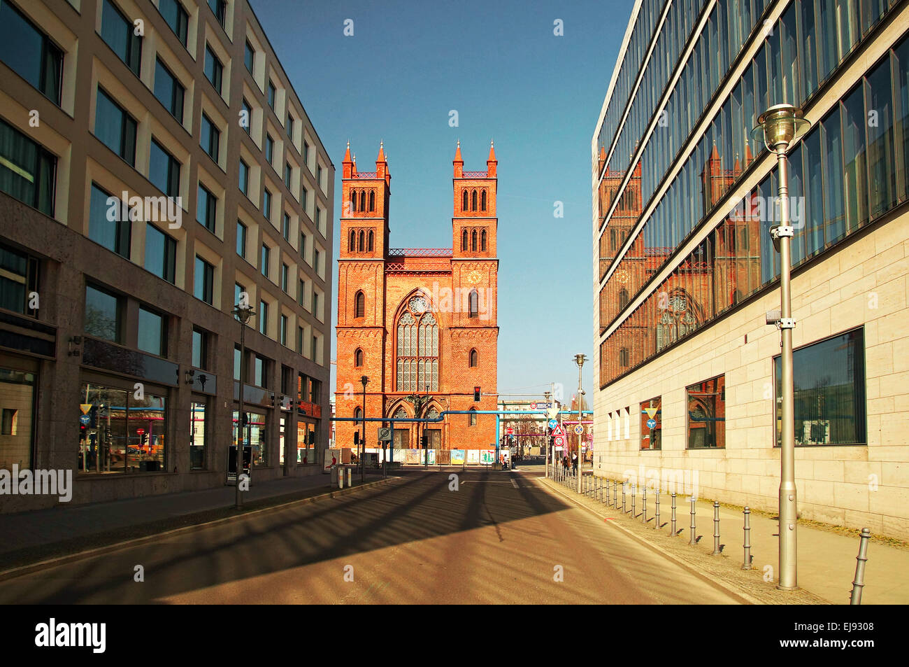 Friedrichwerder Church Germany Berlin Stock Photo