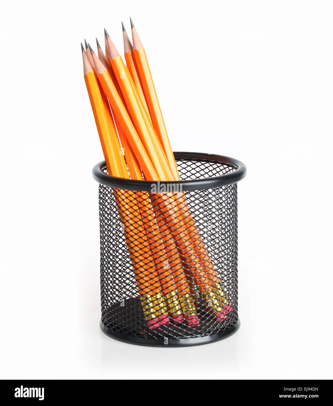 pencil stand - Stock Image