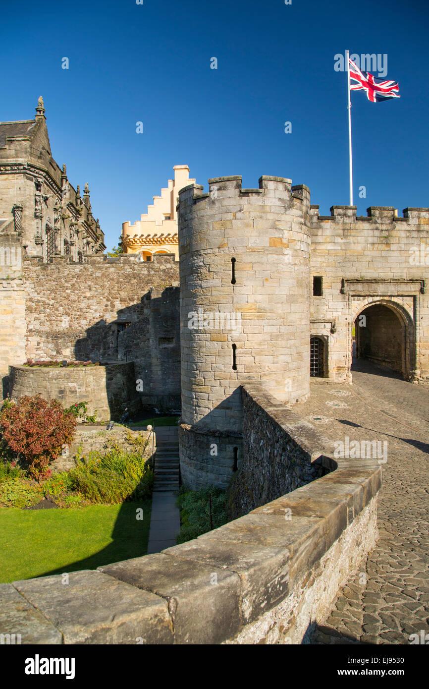 Entrance to Stirling Castle, Stirling, England, UK - Stock Image