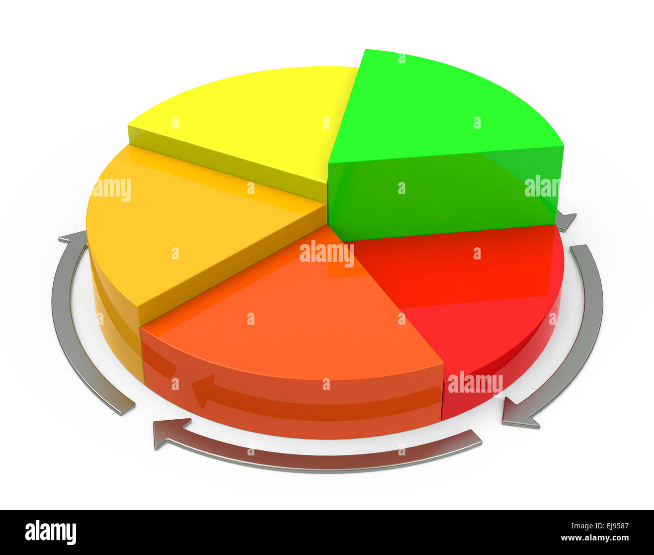 the statistic - Stock Image