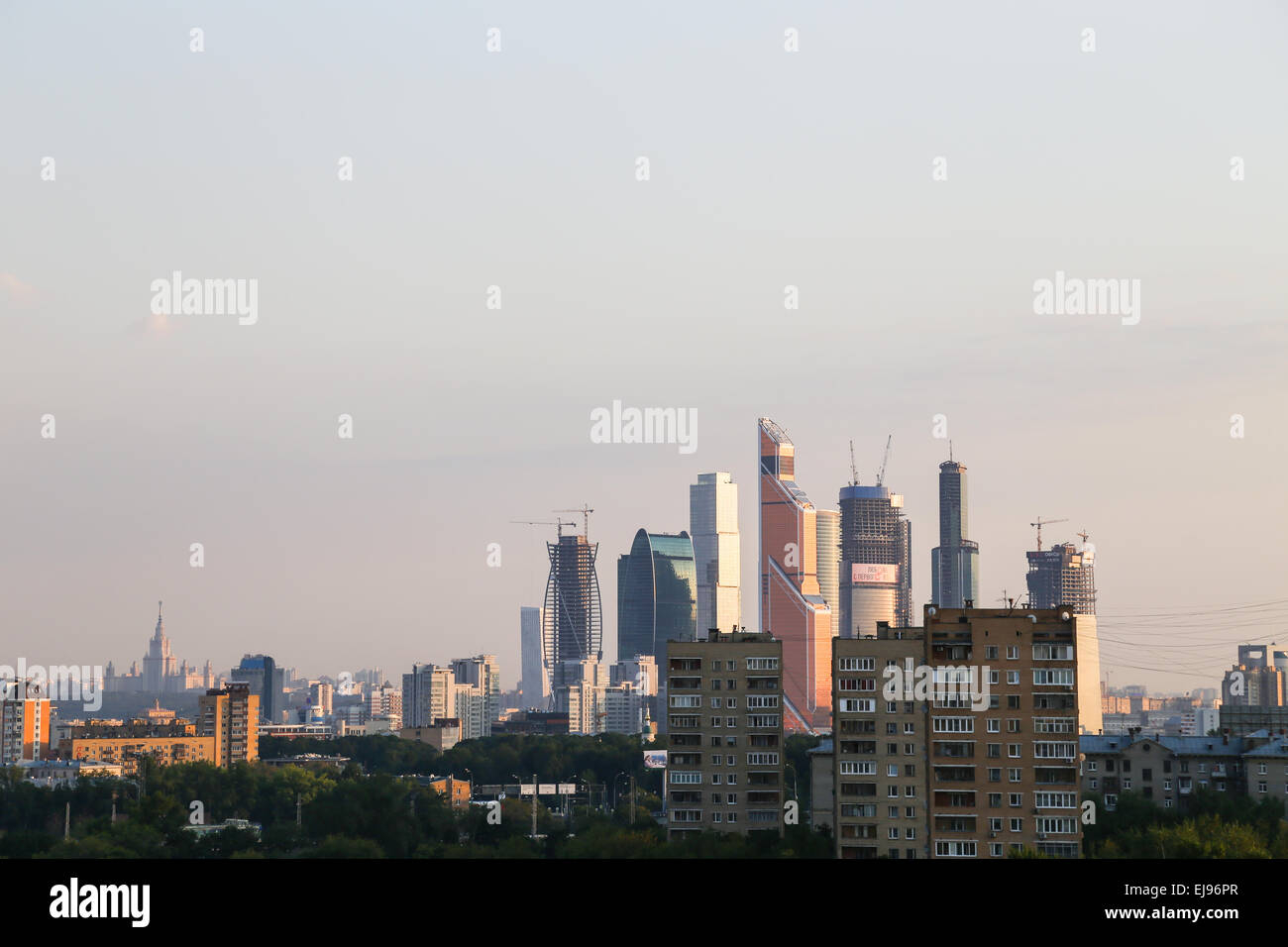 Moscow-City - Stock Image