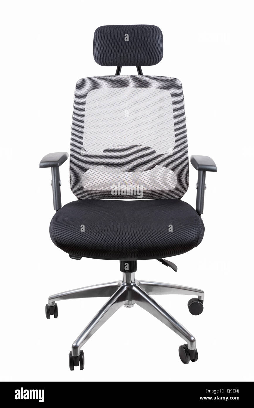 ergonomic office swivel chair - Stock Image
