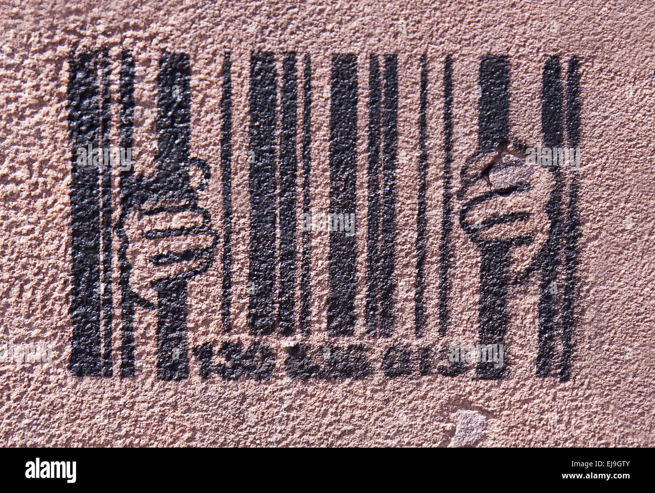 Bar code - Stock Image