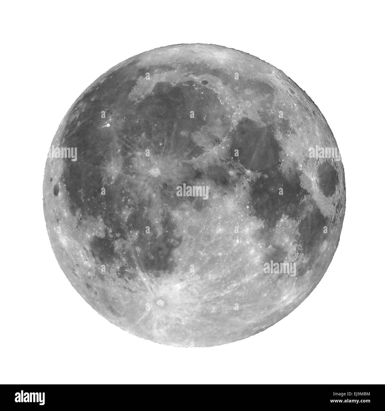 Full moon - Stock Image