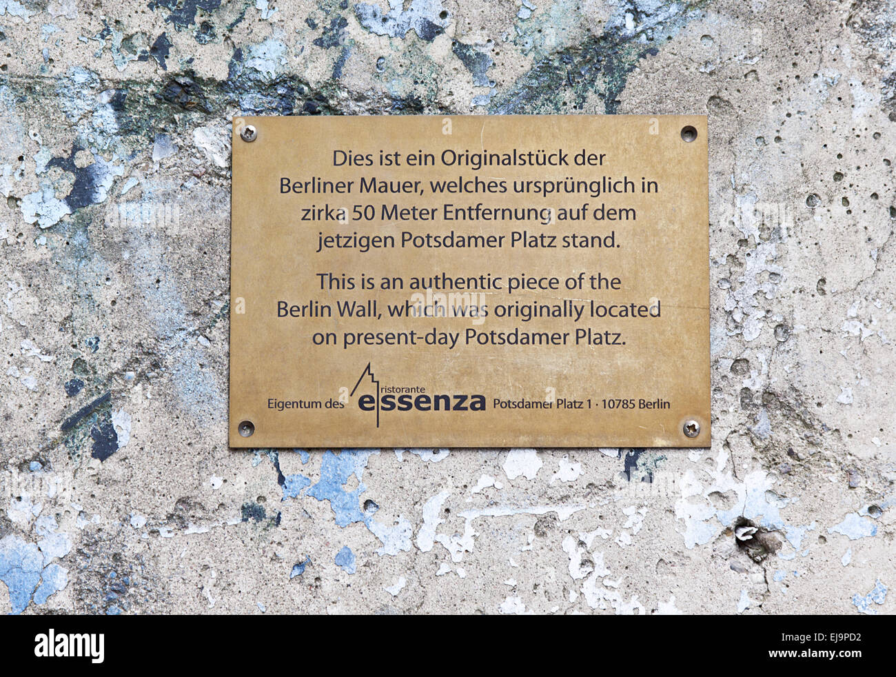 Berlin Wall - Stock Image