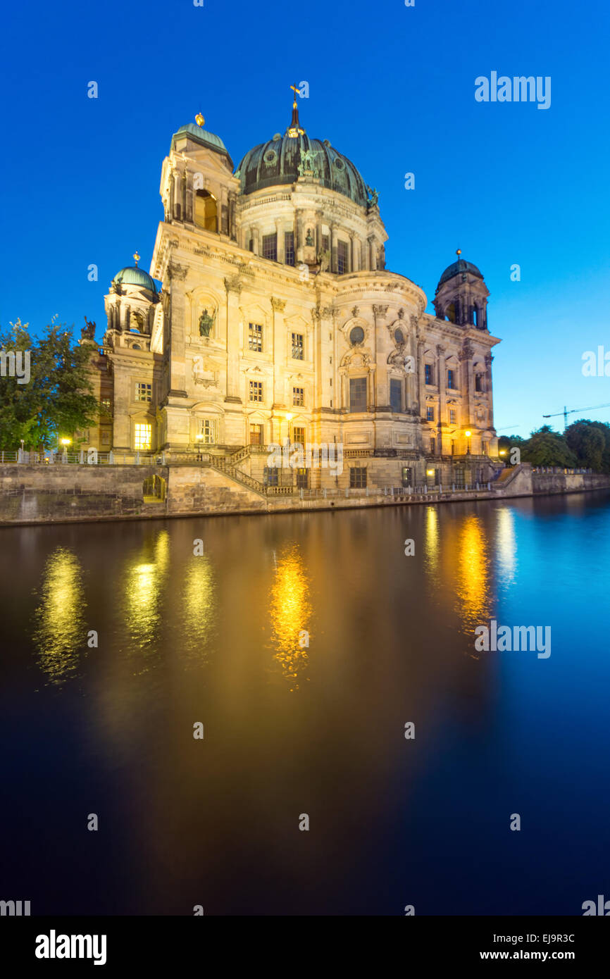 Backside of the Dom in Berlin - Stock Image