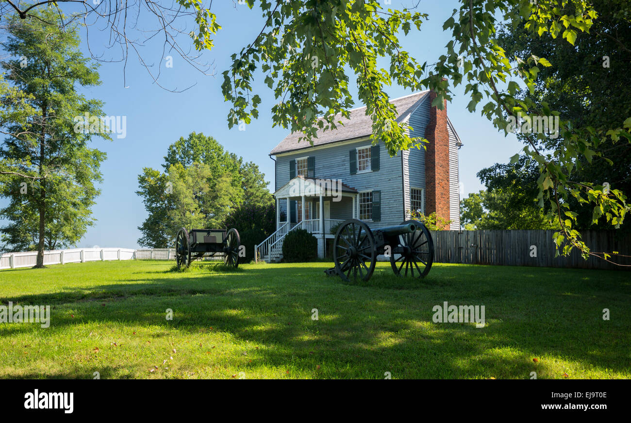 Appomattox County Courthouse National Park - Stock Image