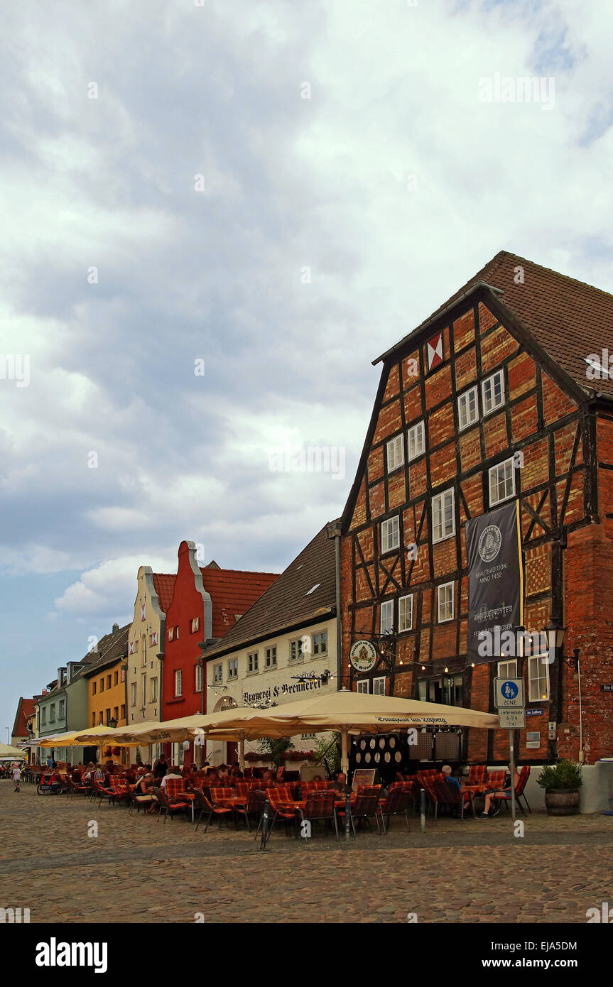 Hanseatic City of Wismar Germany - Stock Image
