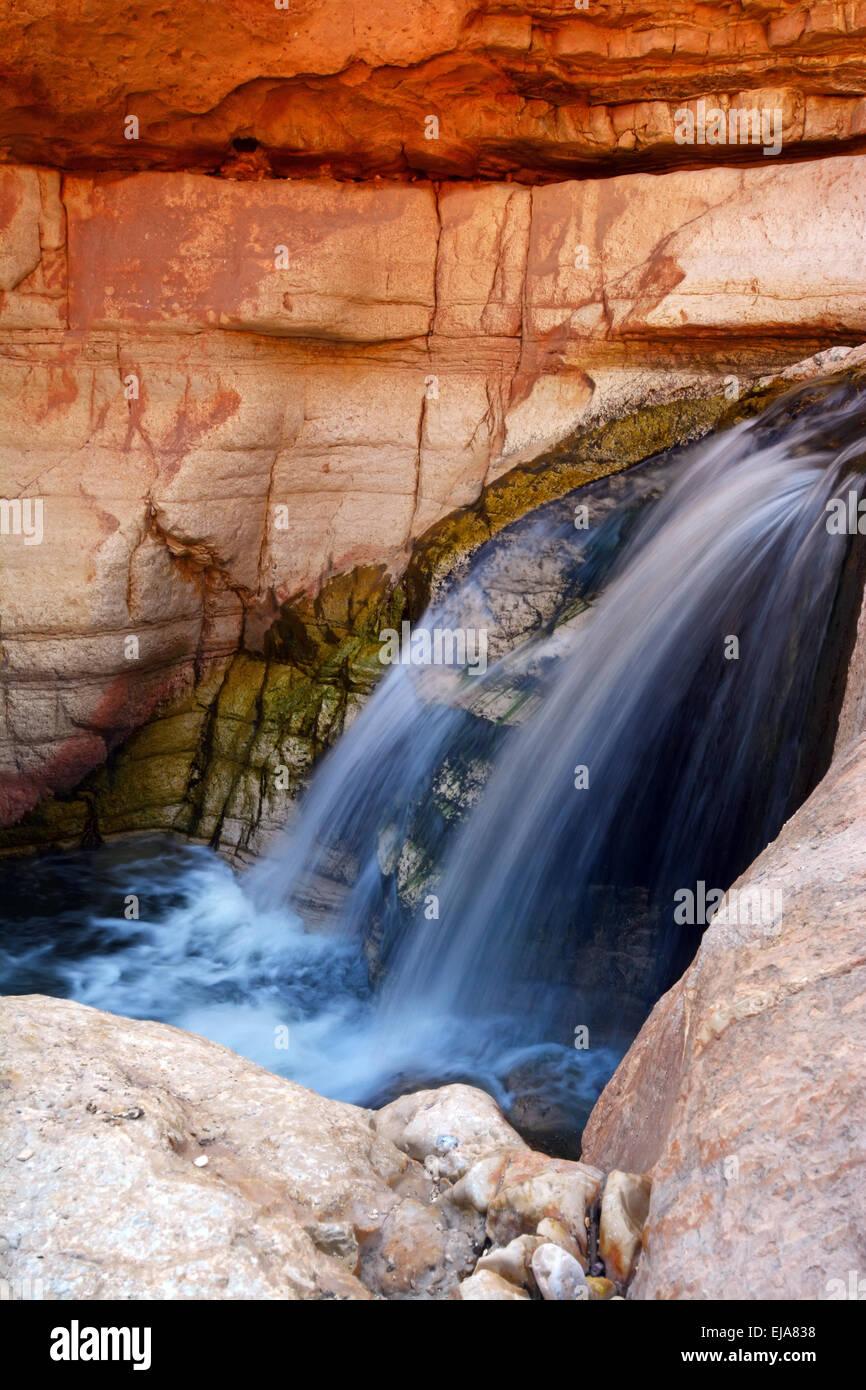 Ein Prat, Wadi Kelt - Stock Image