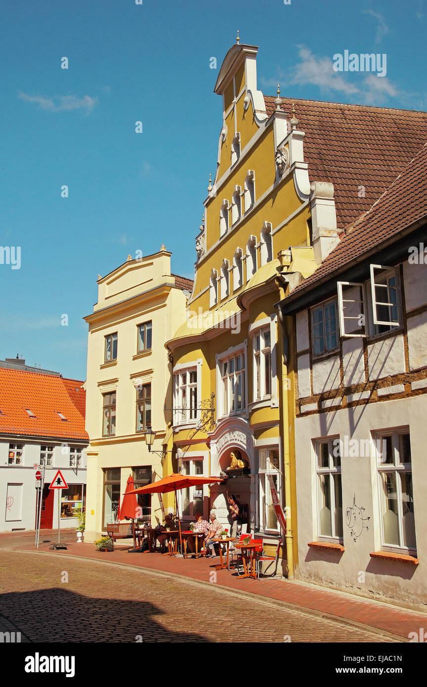 Lion Pharmacy Wismar Germany - Stock Image