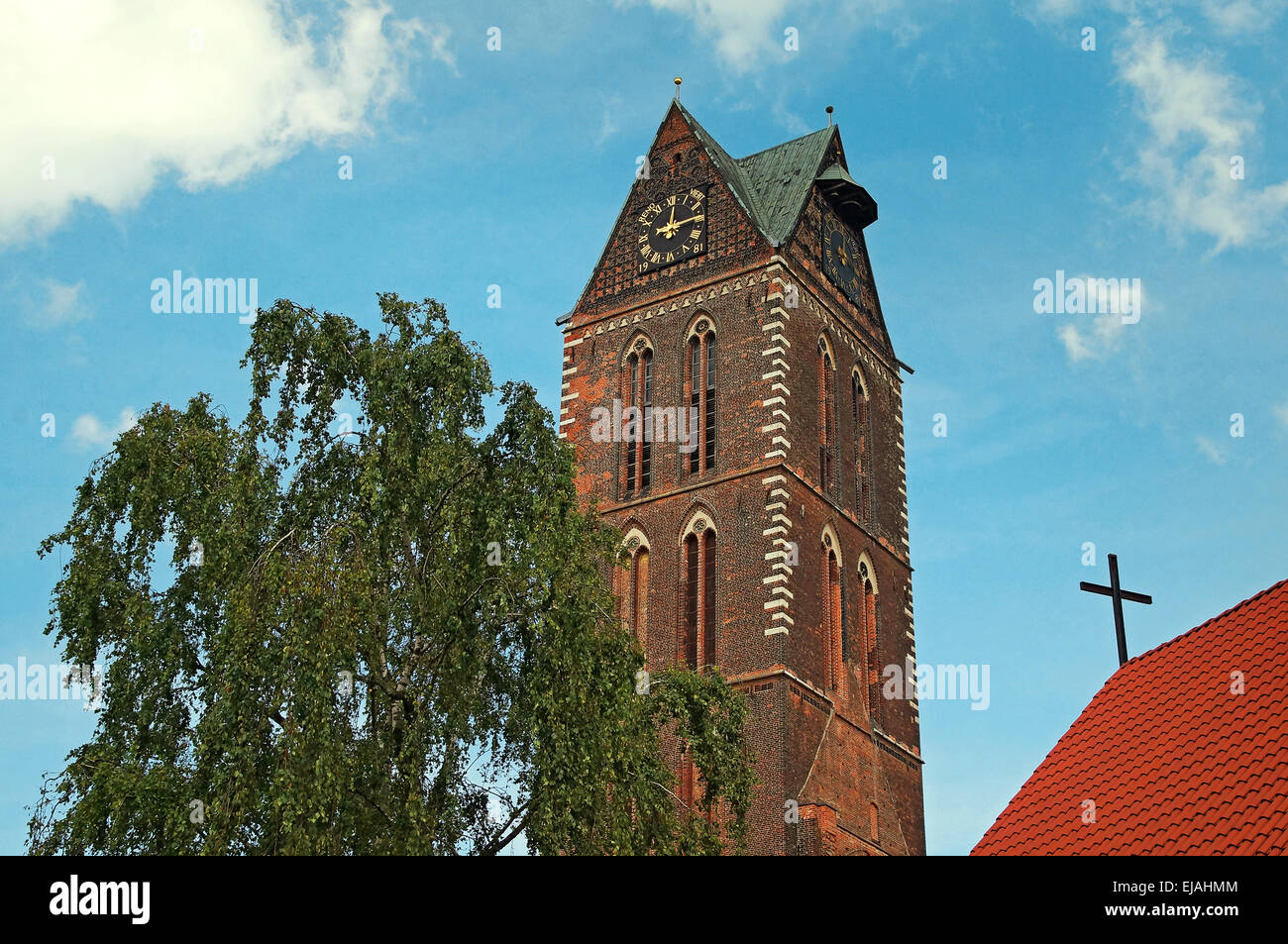 Church of St. Mary Wismar Germany - Stock Image