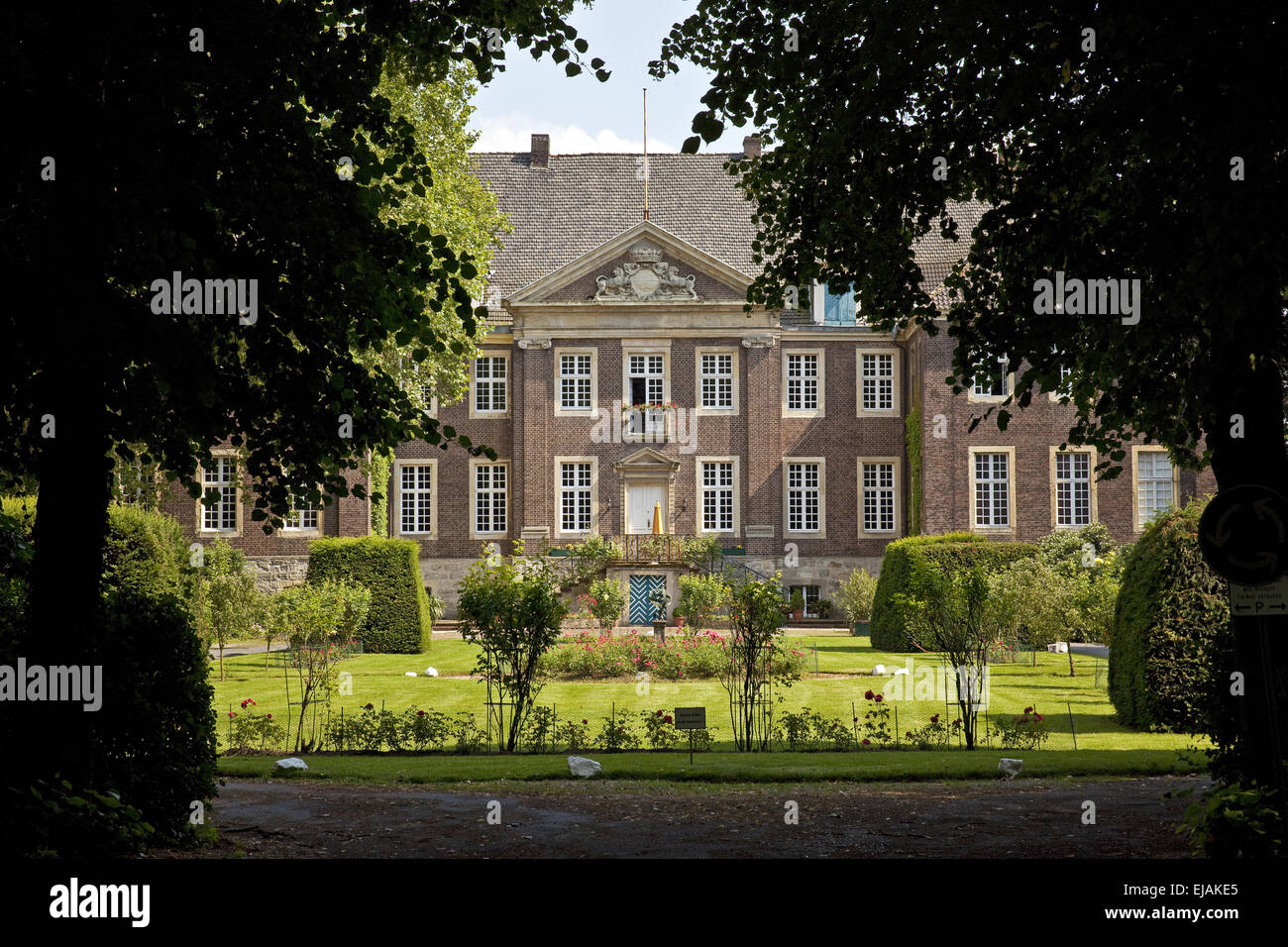 Steinfurt castle, Drensteinfurt, Germany Stock Photo