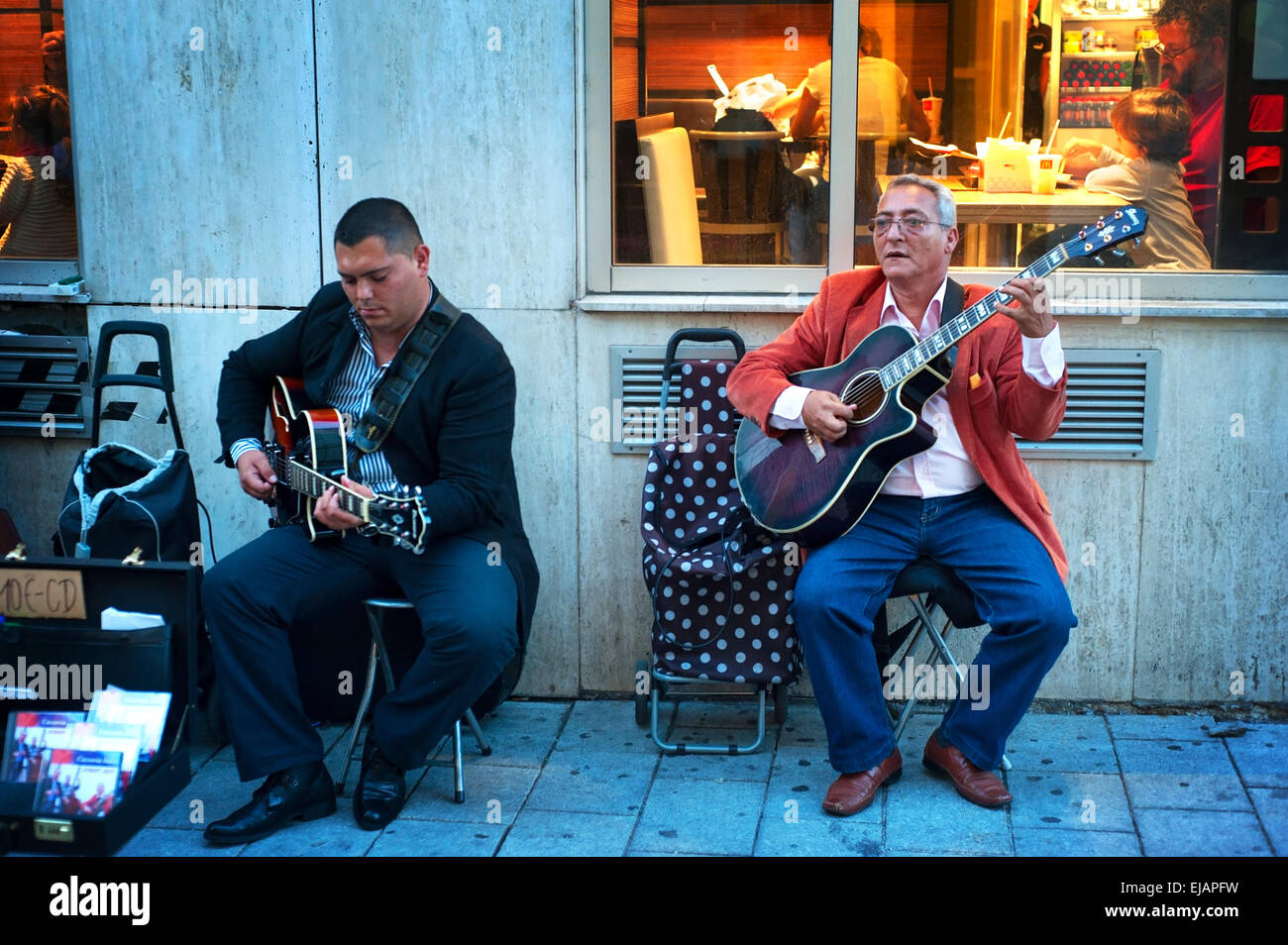 Old mcdonalds stock photos old mcdonalds stock images page 3 alamy street musicians stock image malvernweather Image collections