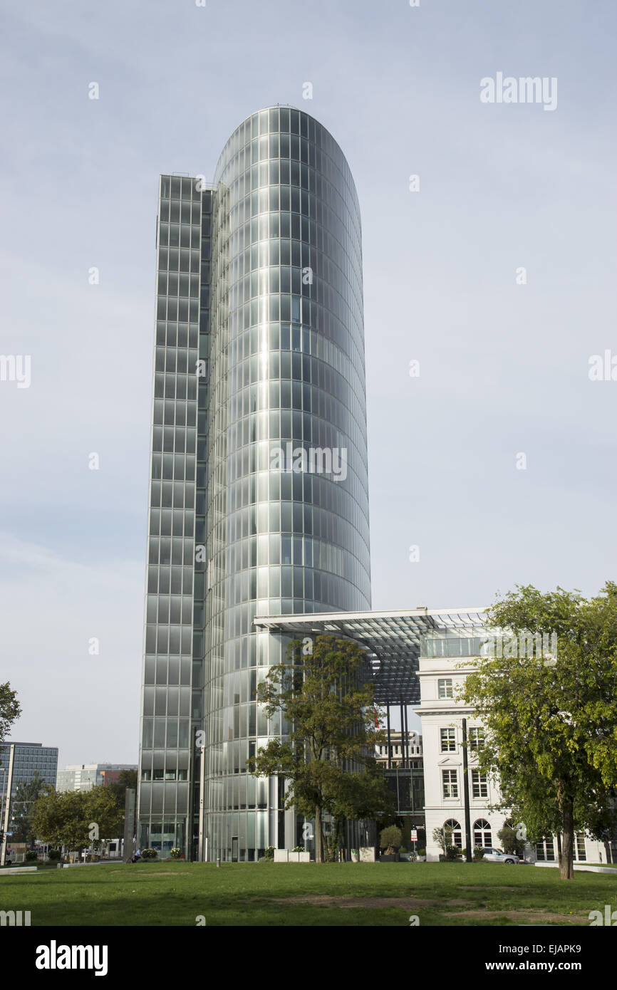 Office tower GAP 15 in Duesseldorf, Germany Stock Photo