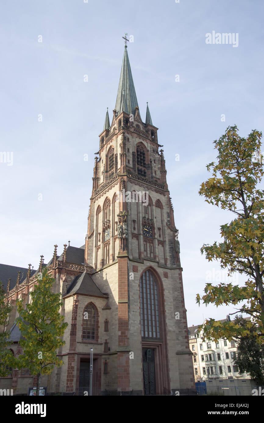 Parish church St. Peter, Duesseldorf, Germany - Stock Image