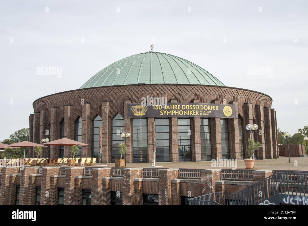 Tonhalle in Duesseldorf, Germany - Stock Image