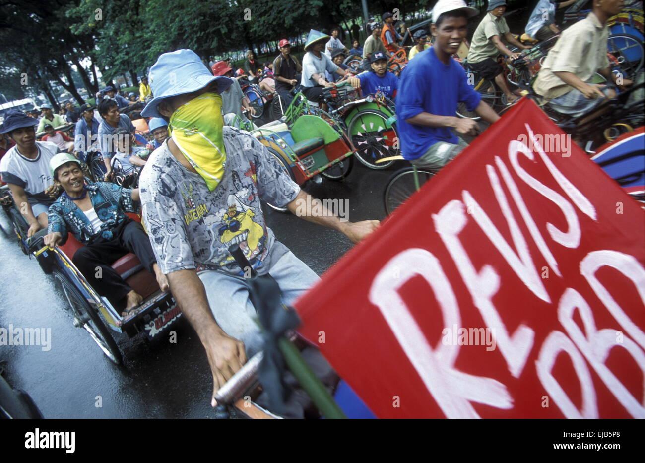 INDONESIEN JAKARTA - Stock Image