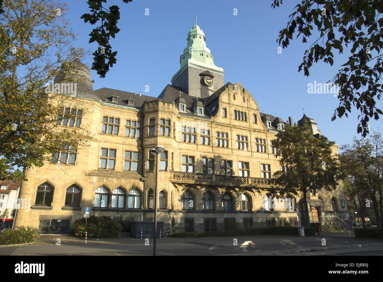 Town hall of Recklinghausen, Germany - Stock Image