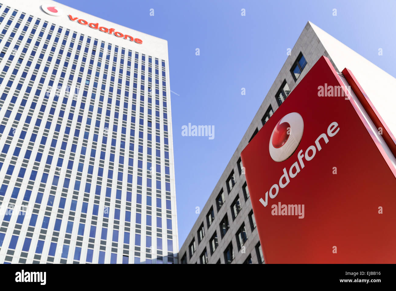 Vodafone Office in Eschborn - Stock Image