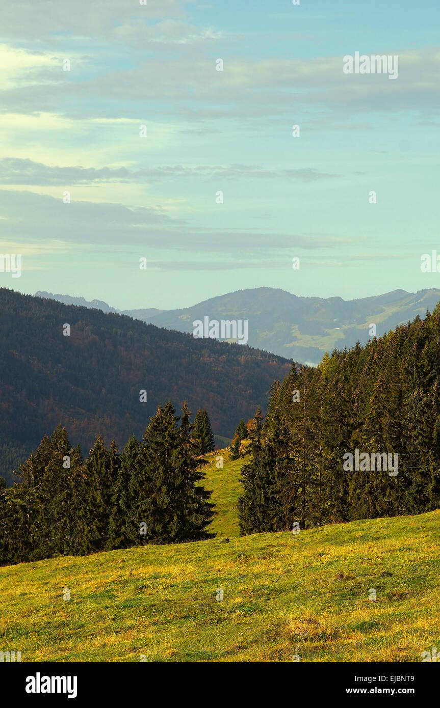 Oberjoch Bavaria Germany - Stock Image