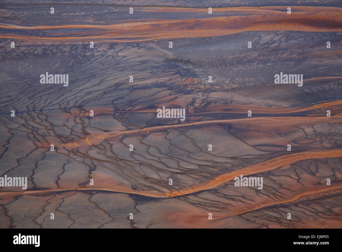 Grand Prismatic Spring im Yellowstone National Par - Stock Image