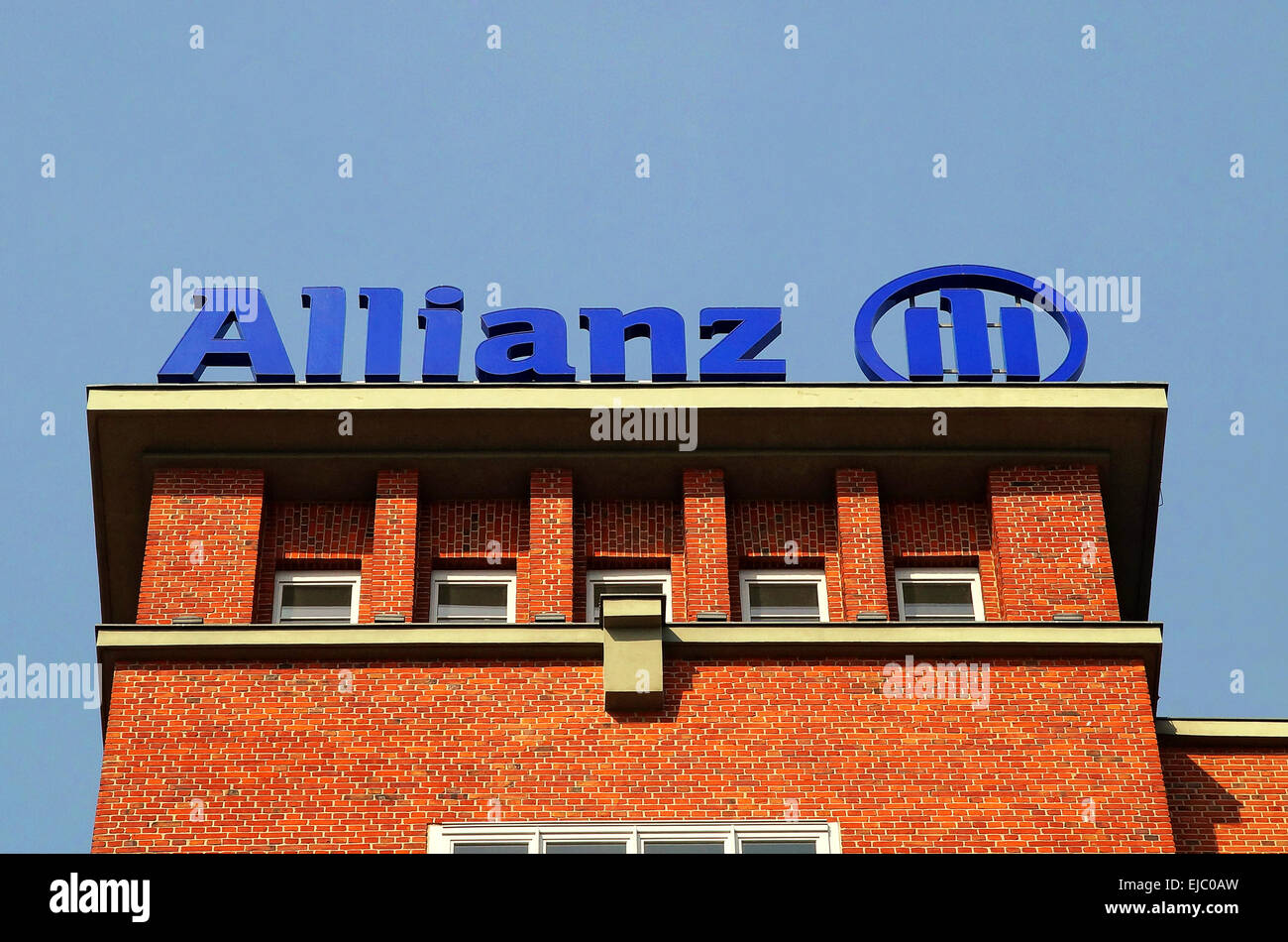 Logo Allianz - Stock Image