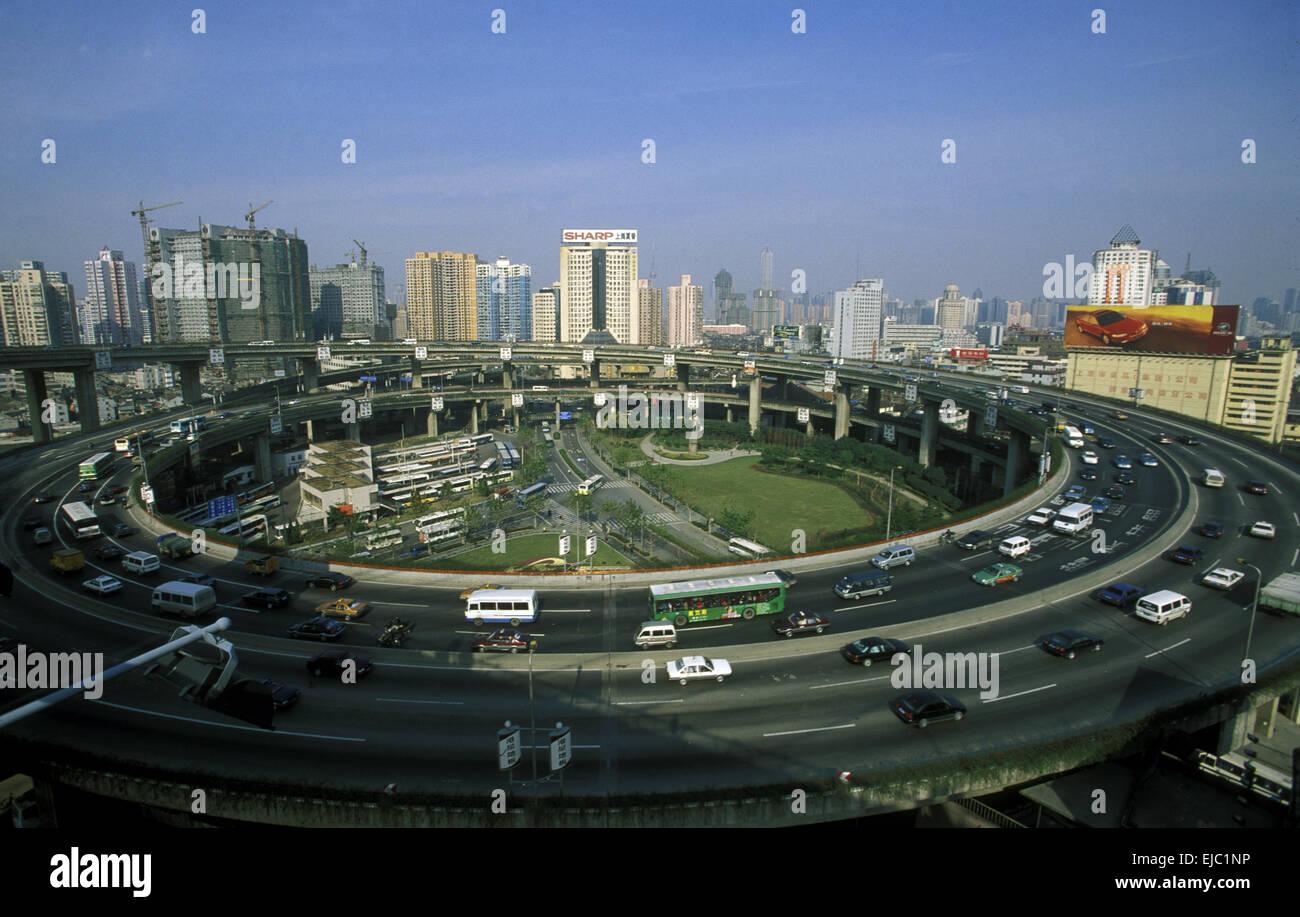 ASIA CHINA SHANGHAI Stock Photo