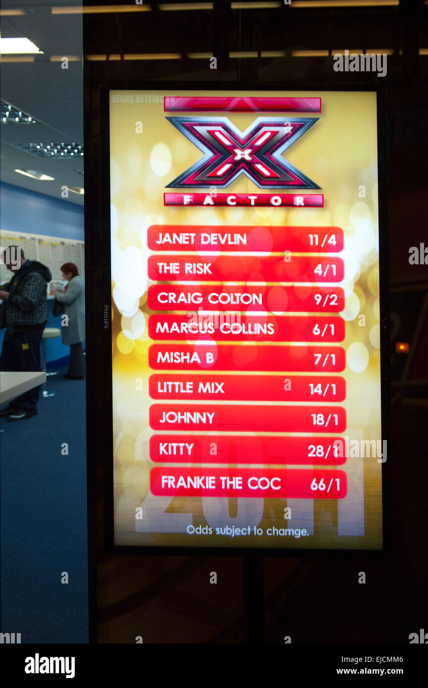 X Factor Betting Odds This Week's Winning Manager Odds - 2019 year