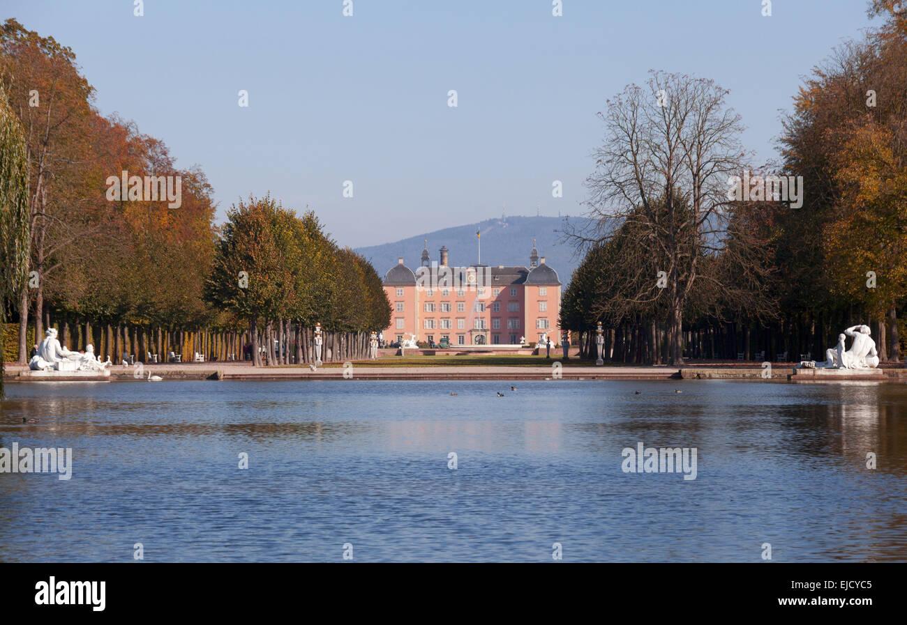 Palace Schwetzingen - Stock Image