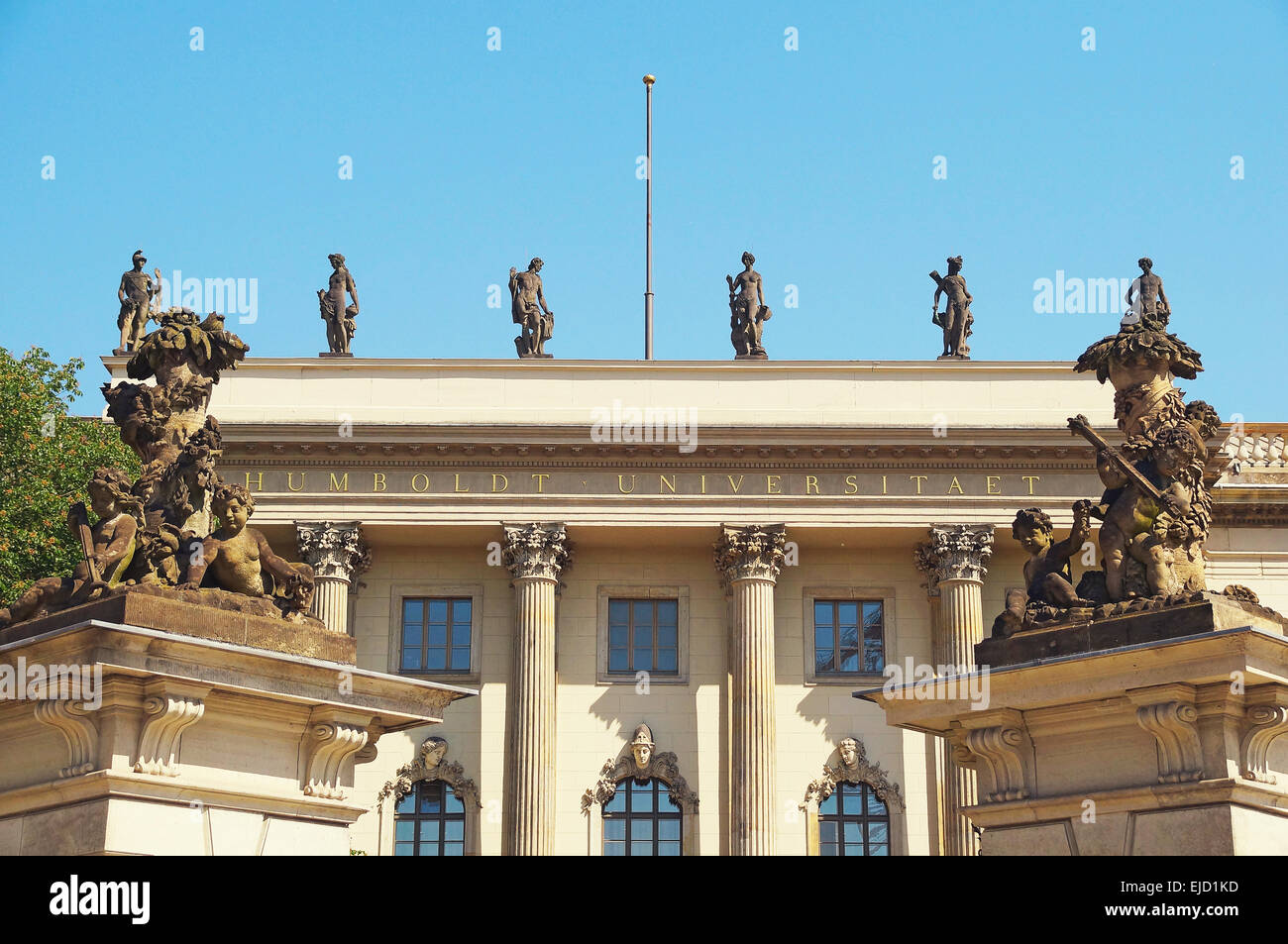 Humboldt University Berlin Germany - Stock Image
