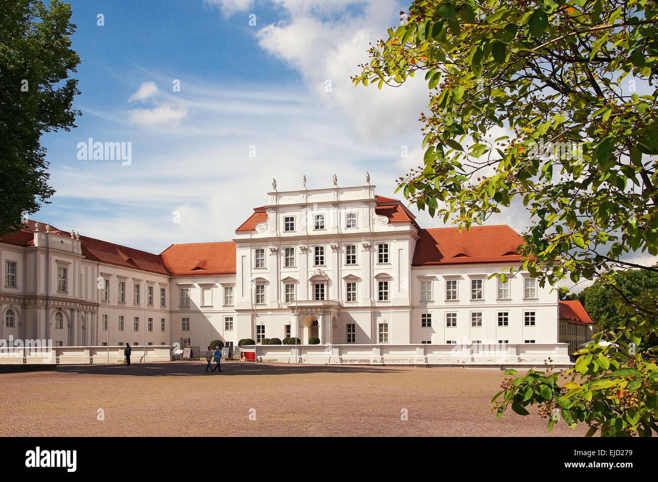 Castle Oranienburg Brandenburg Germany - Stock Image